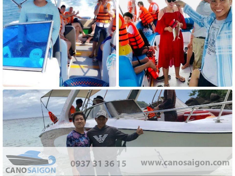 Thuyền câu cá giúp thư giãn đầu óc